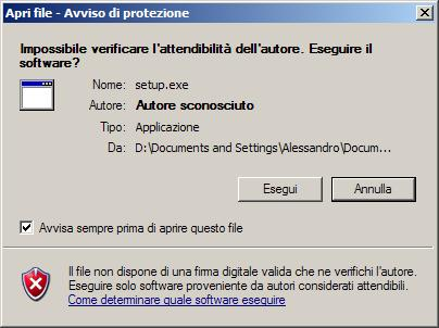 Installare Cygwin su sistema Windows