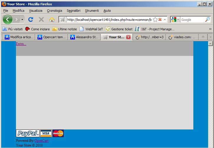 Opencart template: realizziamone uno (3a parte)