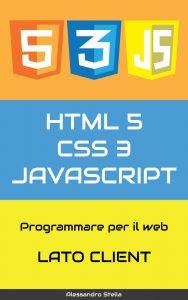 copertina libro su html, css, javascript