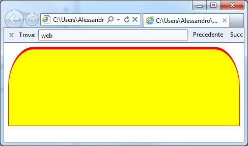 border-radius due ellissi con width
