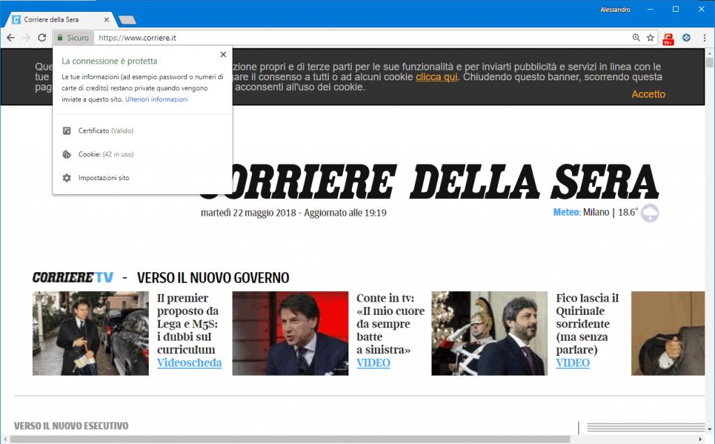 GDPR Corriere Della Sera