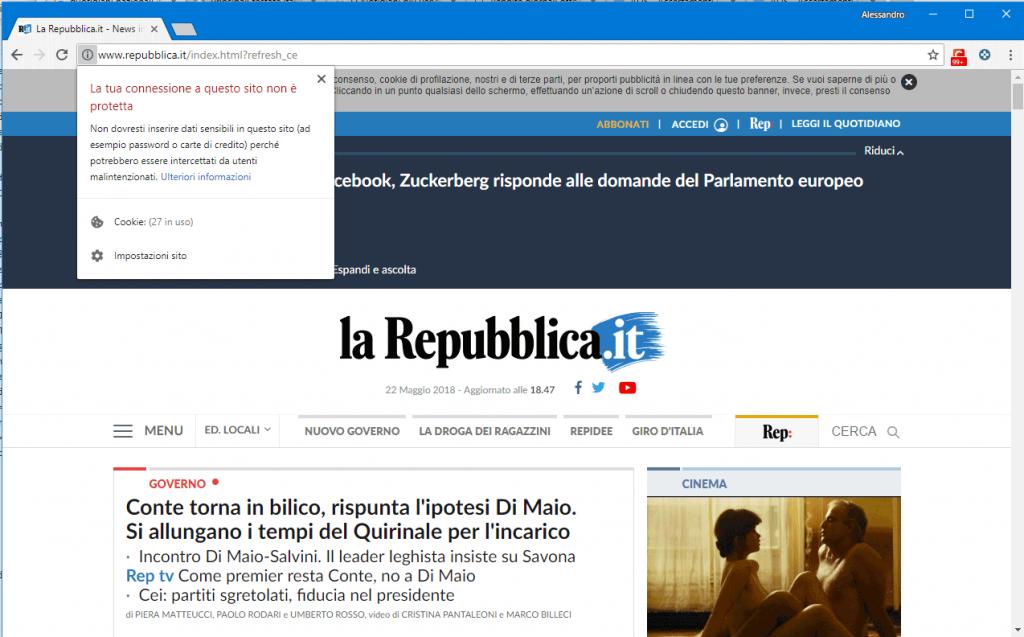 GDPR LaRepubblica