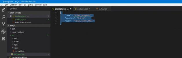Applicazioni desktop ibride con NW.js